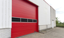 Industrial garage door NYC